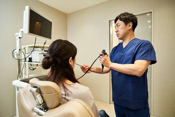 鼻内視鏡検査